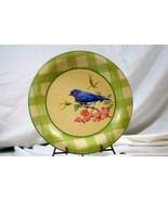 "Lenox 2003 Summer Greetings Eastern Blue Bird Dinner Plate 10 3/4"" - $13.85"