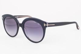 Tom Ford Monica Black / Gray Gradient Sunglasses TF429 03W - $165.62