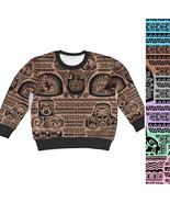 Maui Tattoos Inspired Disney Moana Kids Sweatshirt - $48.99 - $51.99