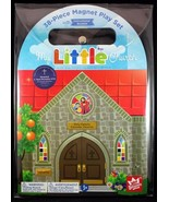 My Little Church 38 Piece Magnet Children's Play Set Trifold Magnetic Book - $23.43