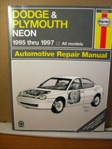 Dodge and Plymouth Neon Automotive Repair Manual  J. H. Haynes & Ed Scott (1997) - $11.69
