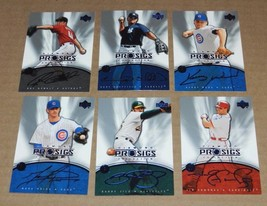 2004 UPPER DECK DIAMOND COLLECTION PRO SIGS  COMPLETE YOUR SET 20 CARDS ... - $0.99