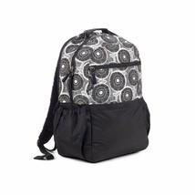 Brand New Studio C Hello Dahlia Black & White Floral Backpack 51251292 image 1