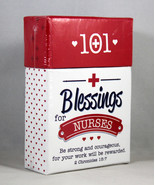 101 Blessings For Nurses NEW 51 Cards with Scripture Verses Inspirationa... - $7.26