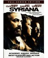 Syriana (Full Screen Edition) DVD, 2006, Matt Damon, George Clooney - $9.99