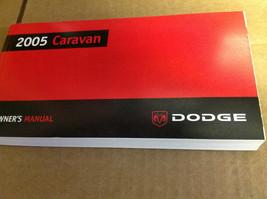 2005 Dodge Caravan Factory Owners Manual Booklet Glove Box Mopar Oem Dodge X - $30.02