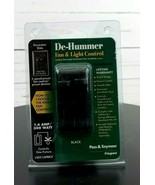 DE-HUMMER FAN & LIGHT BLACK 1.6 AMP 300 WATT CONTROLS 1 FIXTURE - $26.99