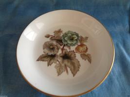 Royal Worcester The Dorchester Hotel Pastel Floral Porcelain Butter Pat ... - $5.20