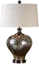 Uttermost 27154-1 Liro Mercury Glass Table Lamp, Dark Bronze - $310.20