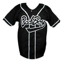 Biggie Smalls #10 Bad Boy Baseball Jersey Button Down Black Any Size image 3