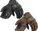 Full Leather Motorcycle Gloves Black Brown Racing Protective Bike Full Finger