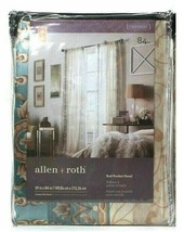 "Allen & Roth 59"" X 84"" Cheshire 0111345 Mist Polyester Rod Pocket Panel - $22.76"