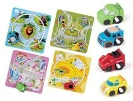 Happy Travel Wind Up Car On Track One Rabdon Style - $3.99