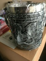 NEW Double Wall Stainless Steel Dragon Mug Coffee Cup Halloween Gift Ste... - $0.98