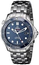 Omega Men's O21230412003001 Seamaster Analog Display Automatic Self-Wind Silver - $4,787.78