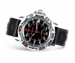 Men`s Russian military mechanical watch. VOSTOK. Komandirskie. 811172 - $29.00