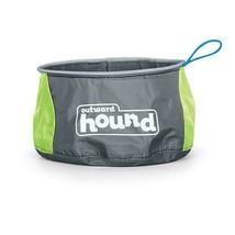 "Outward Hound Port-A-Bowl 48oz. NEW Color Green/Grey 6"" x 6"" x 4"" OH23002 - $10.49"