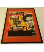Tony Hawk's Underground 2 PS2 2005 Framed 11x14 ORIGINAL Advertisement - $34.64