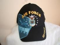 Primary image for U S Air Force shield w/shadow on a new Blue ball cap