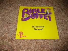 Bible Buffet - Nintendo NES - MANUAL ONLY  - New Uncirculated - NO GAME - $6.99