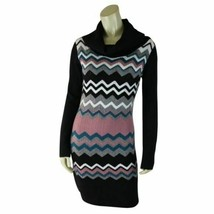 Bcbg MaxAzria Sweater Dress S Acrylic Wool Nylon Cowl Neck Pullover - $38.61