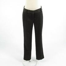 Cool brown black diagonal striped wool blend ANN TAYLOR dress pants 2 - $24.99