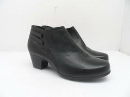 Clarks Women's Side Zip Casual Shoe 61040757 Black Size 6M - $33.24