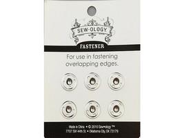 Hobby Lobby Sew-ology Sew-on Fastener Snaps, Size 2, 6 Sets #752600 image 2