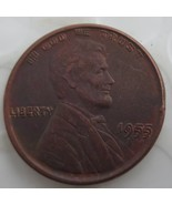 SexeMara 1955 Lincoln Double Die Head Cent copy coins - - $17.95