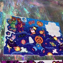 Vintage Lisa Frank Partial Rare Halloween Sticker Sheets Mummy Bears Vampire Etc image 5