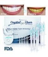 OPALESCENCE comparable Teeth Whitening Gel 6 syringes + LED by Crystal Clear USA - $28.04