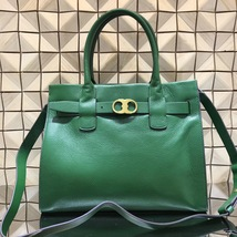 Authentic Tory Burch Gemini Link Leather Tote