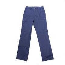 Vineyard Vines Breaker Casual Pants Cobalt Blue 28 x 32 Boating Cotton 1... - $69.29