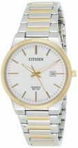 Women's Citizen Two Tone Silver Dial BI5064-50A Stainless Steel Analog Watch - £54.13 GBP