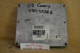 2003 Toyota Camry 4 Cyl AT Engine Control Unit ECU 896610X040 Module 04 ... - $9.89