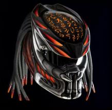 Predator Motorcycle Helmet Orange Candy (Dot / Ece Certified) - $355.00