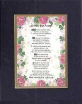 Touching and Heartfelt Poem for Friends - [My New Best Friend! ] on 11 x... - $16.33