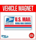 US MAIL RURAL CARRIER Heavy Duty Vehicle Magnet Truck Car Sticker Sign D... - $17.09+