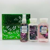 Bath Body Works CACTUS BLOSSOM Gift Box Set Travel Mist Shower Gel & Bod... - $22.67