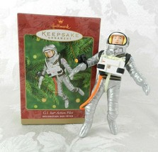 2000 Hallmark Christmas Ornament G.I. Joe Action Pilot Astronaut - $15.83