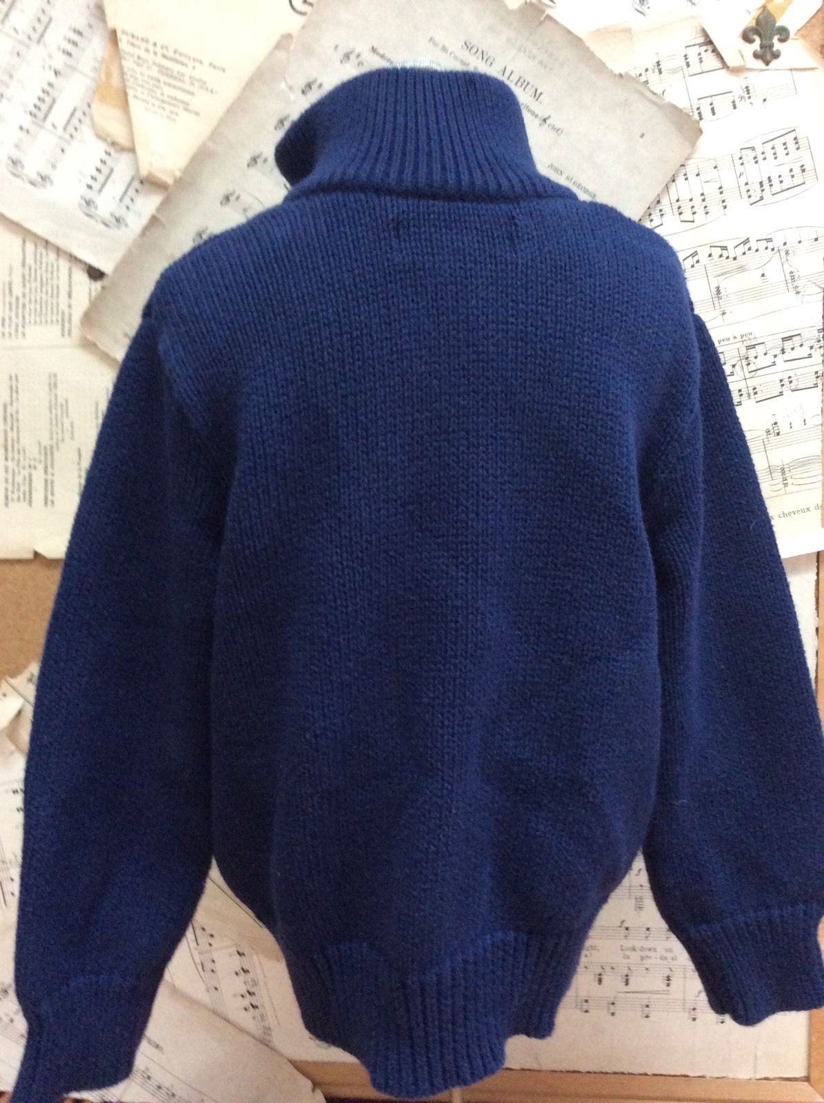 e13f86848da51e Ralph Lauren Polo Navy Sweater 100% Cotton and 18 similar items