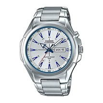 Casio MTP-E200D-7A2 Men Illuminator Silver Dial Watch - $61.00