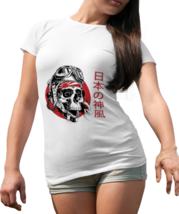 Japanese Kamikaze Whte Womens T-shirt - $15.99