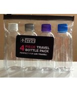 4 Piece Travel Bottle Pack - Carry-on Size - $9.89