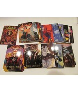 COLLECTIBLE CARDS DARK JUDGMENT DC VILLIANS 1995 SKYBOX IN PLASTIC BOX - S1 - $6.84