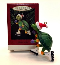 Hallmark 1995 Roller Whiz Turtle Keepsake Christmas Ornament - $11.87