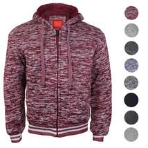 Maximos Men's Athletic Soft Sherpa Lined Fleece Zip Up Hoodie Sweater Jacket