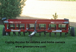 """36"""" Aerator Coring Tow Behind for Home & Estate  - $1,333.00"""