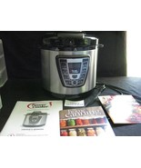 Power Cooker Digital 8-Quart Stainless Steel Pressure Cooker model PC-PR08 - $34.08