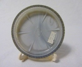 Boyd Glass Beaded Edge Star Dogwood Round Coaster B In Diamond - $8.99